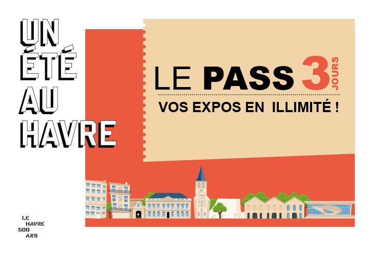 Un Pass 3 jours à 20 € pour toutes les expos d'Un Été au Havre