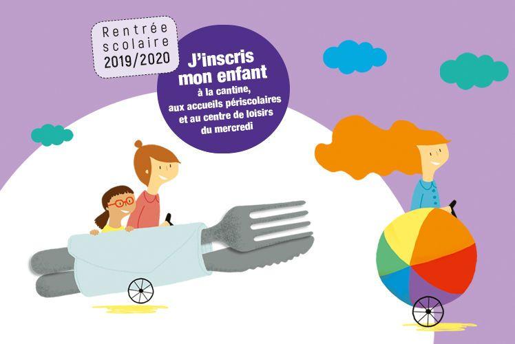 Cantine, accueils périscolaires, centre de loisirs : inscrivez votre enfant pour la rentrée 2019-2020