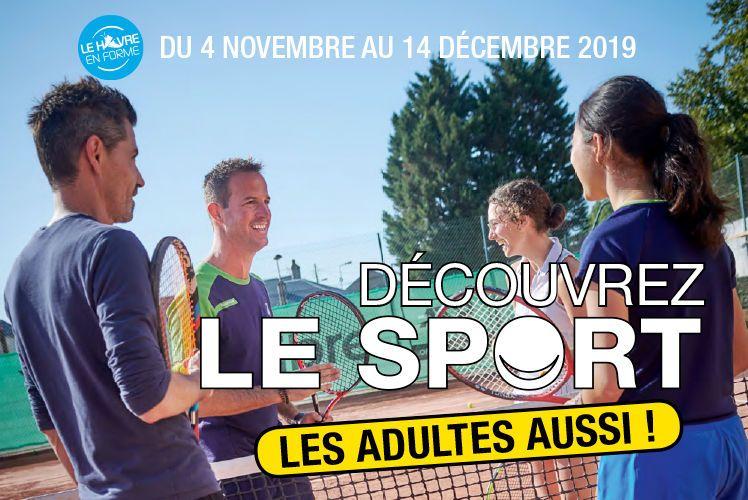 """Dans le cadre de Le Havre en Forme, la Ville du Havre étend son dispositif """"Découvrez le sport"""""""