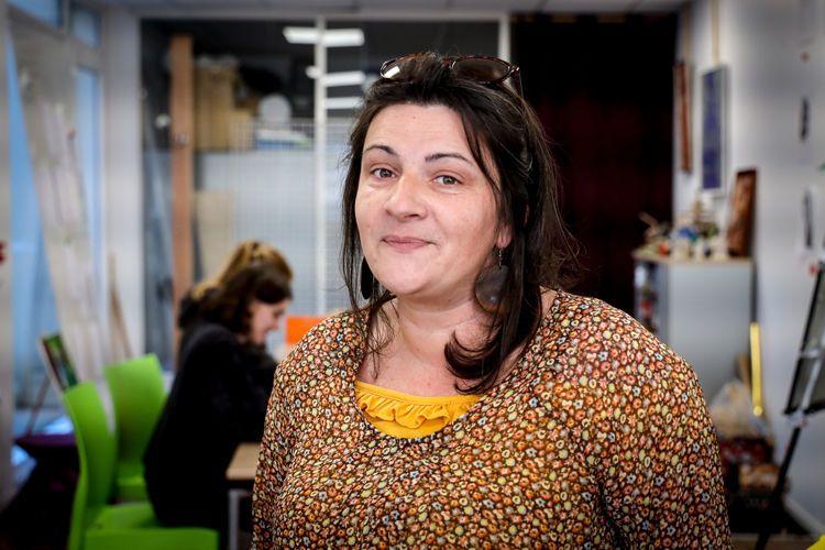 Gaëlle Caetano, fondatrice d'Éduc'art et éducatrice spécialisée