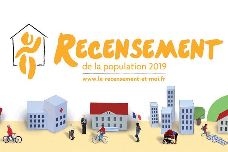 Recensement de la population 2019 - Des chiffres aujourd'hui pour construire demain