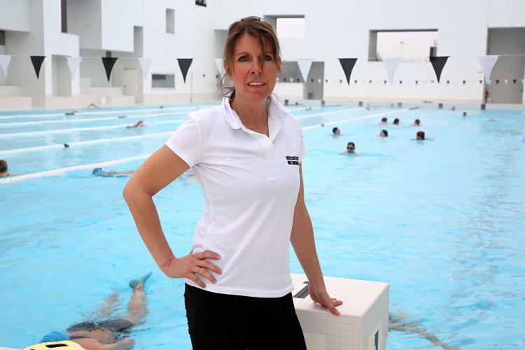 """Blandine Bride, maître-nageur, chef de bassin adjoint aux Bains des Docks : """"Pour un bénéfice physique, psychologique et social"""""""