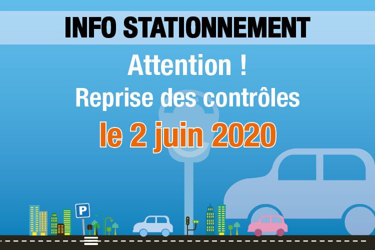 Info stationnement 2 juin