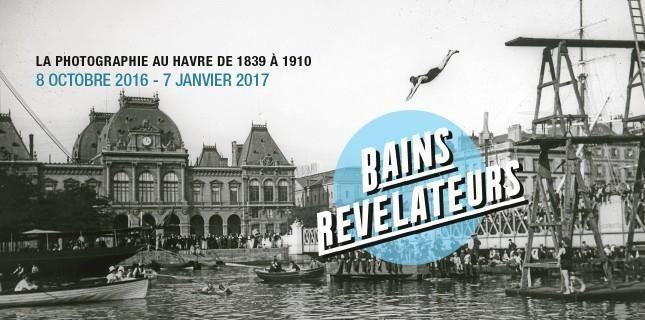 """L'exposition photos """"Bains révélateurs"""" dévoile Le Havre de 1839 à 1910"""