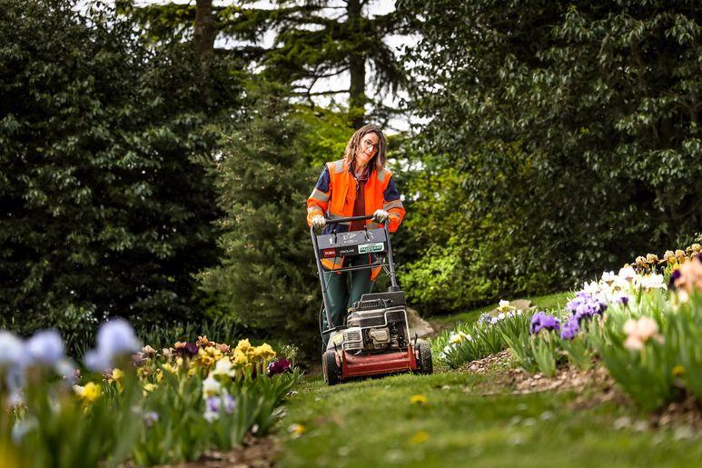 Les jardiniers mobilisés