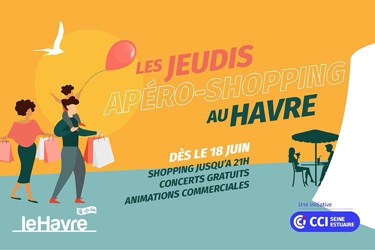 Les « Jeudis Apéro-Shopping »