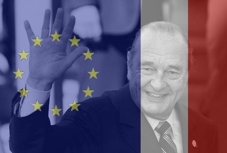 Une minute de silence en hommage au Président de la République Jacques Chirac