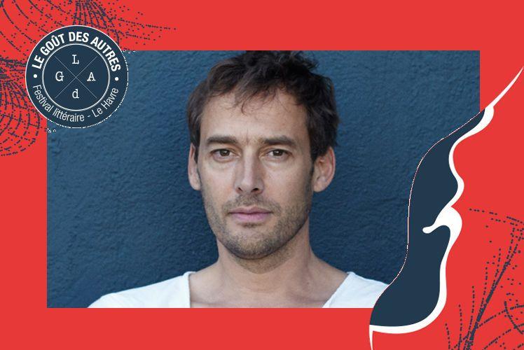 Emmanuel Noblet, comédien, invité du Festival littéraire Le Goût des Autres 2019
