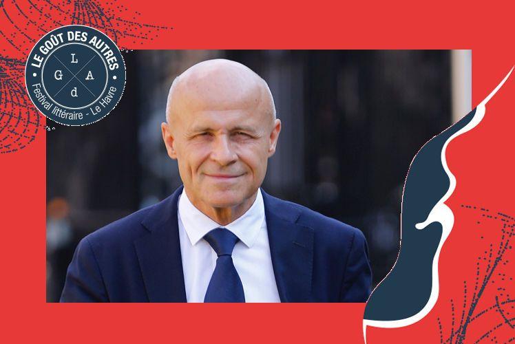 Olivier Poivre d'Arvor, écrivain, ambassadeur de France en Tunisie, invité du Festival littéraire Le Goût des Autres 2019