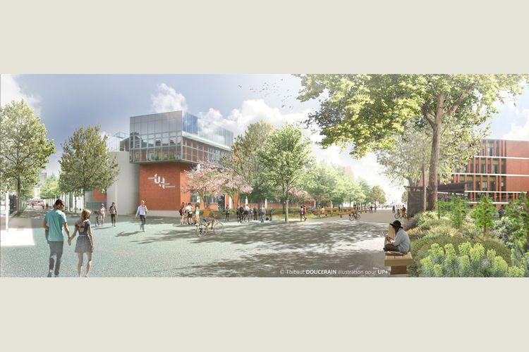 Après concertation, le projet de réaménagement du campus universitaire Lebon dévoilé
