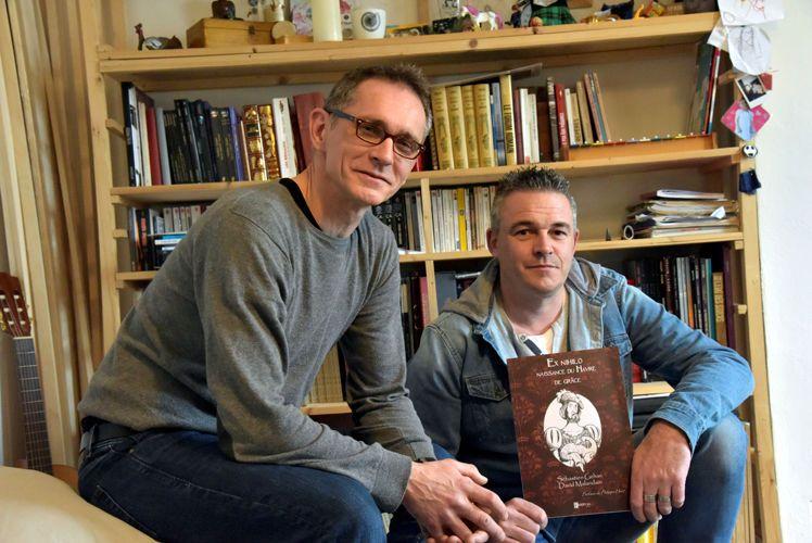 """Sébastien Gehan et David Malandain, auteurs de Ex nihilo : """"Quelque chose d'assez irrévérencieux"""""""