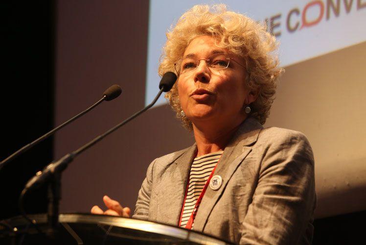 Portrait d'Odile Conseil, fondatrice et déléguée générale de Ciné Salé