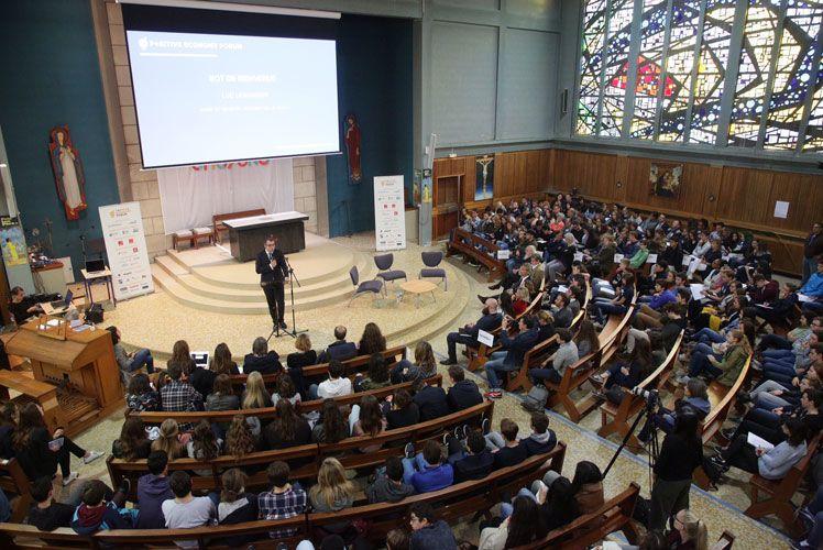 LH Positive Economy Forum - 4e Forum des lycéens : 1 200 élèves engagés pour l'avenir du Havre et de leur lycée