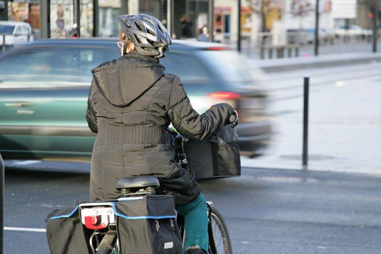 Une piste cyclable aménagée avenue Paul Bert