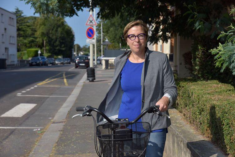 Caroline Pigeon, troisième participation au Vélotour