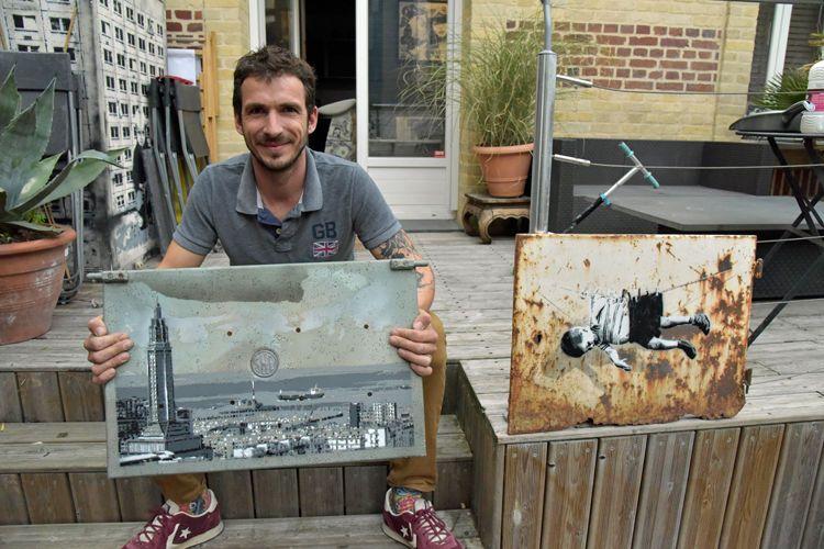 Le graffeur Man-X, alias Alix Lemetayer, expose à la Galerie Hamon du 10 novembre au 5 décembre