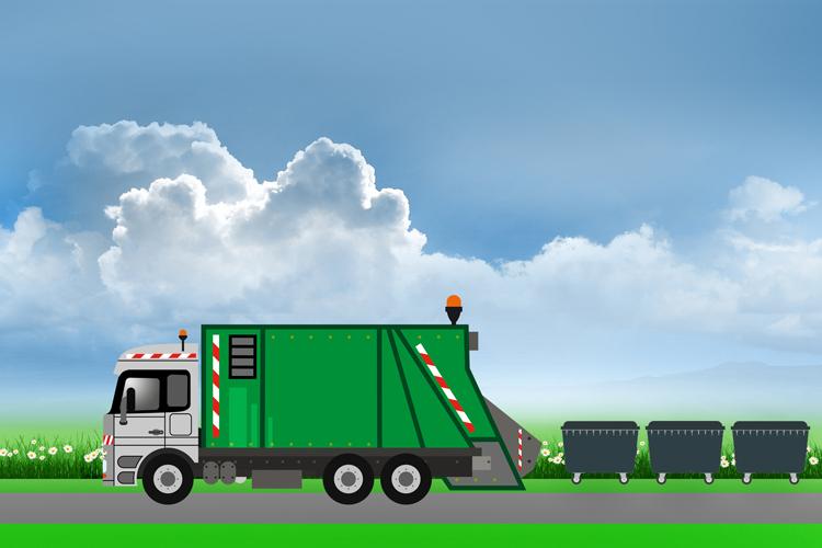 Rattrapage des collectes de déchets pendant les fêtes