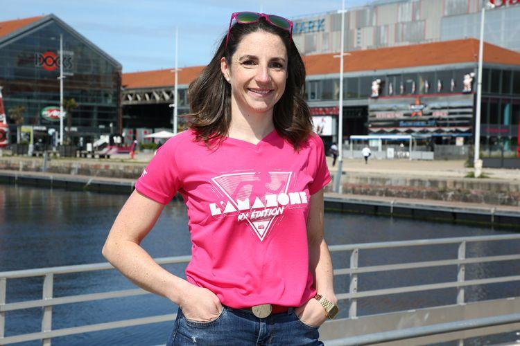 Lise Fournier, présidente de LM&Co Evénements et organisatrice de la 10ème édition de l'Amazone, la course des femmes contre le cancer du sein