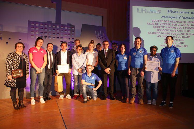 La Ville du Havre dévoile son palmarès des sportifs de l'année 2018