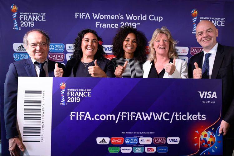 La billetterie pour assister aux matches de la Coupe du Monde Féminine FIFA, France 2019™ officiellement lancée