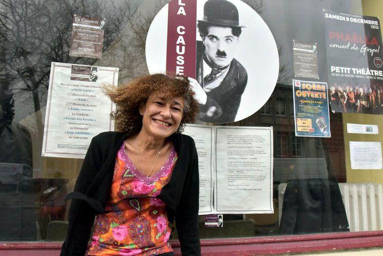 """Clotilde GUILLERET, fondatrice de La Causerie, lieu d'expressions artistiques : """"Les gens ont besoin de se rencontrer et de se parler"""""""