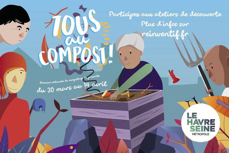 Une série d'animations dans le cadre de la Semaine nationale du compostage