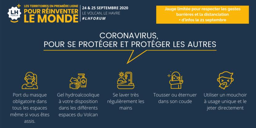 Mesures Covid-19 - LH Forum 2020