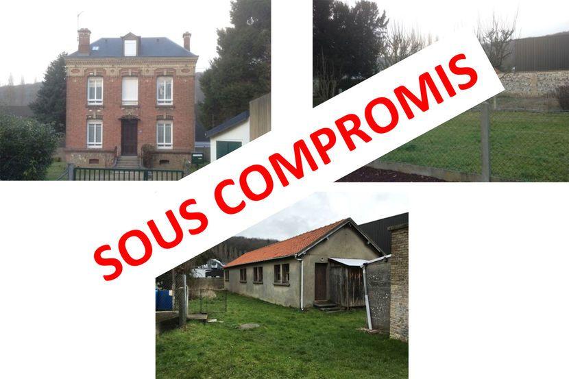 Presbytère, terrains bâtis et nus, situés à Rouelles - Offre immobilière - sous compromis